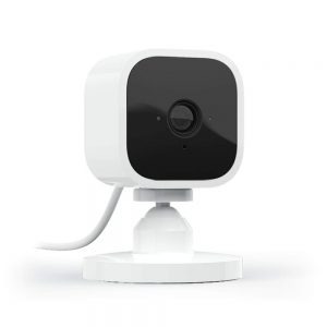 Blink Mini, Blink Mini 1 camera kit, Blink Mini 2 Camera kit, Compact indoor plug-in smart security camera, 1080 HD video, motion detection, night vision, Works with Alexa